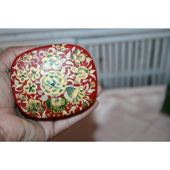 KASHMIRI BOHO BOX,vintage box,vintage trinket box